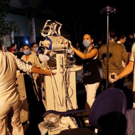 Ministério quer saber se hospitais têm preparo contra fogo