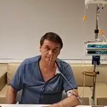 Bolsonaro recebe alta médica nesta segunda-feira e volta a Brasília