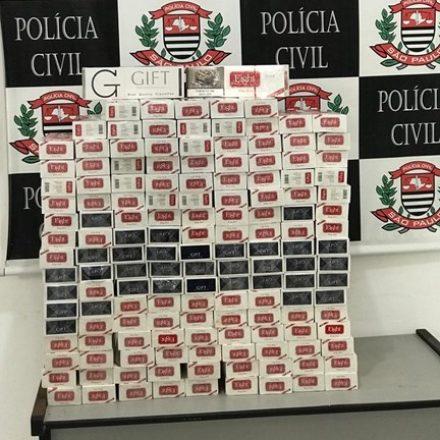 Cigarros correspondem a 34% dos produtos apreendidos em SP