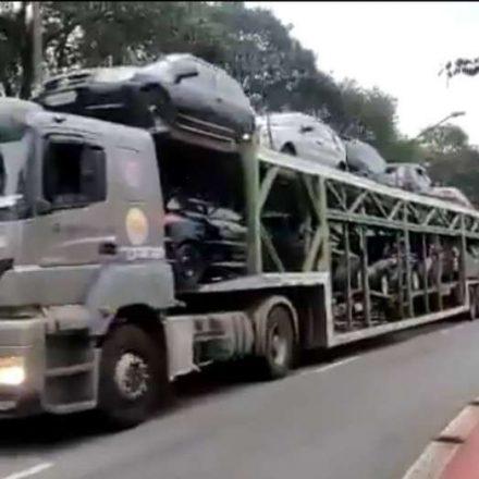 PM apreende 75 veículos em pancadões na zona leste de São Paulo