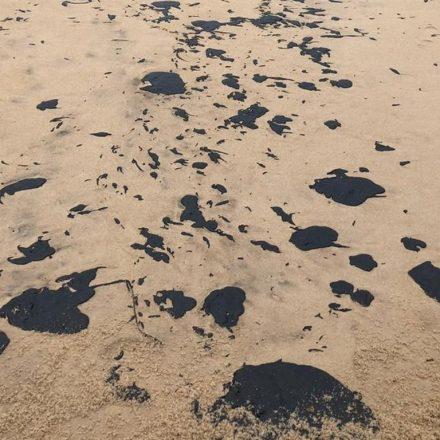 Sobe para 113 o número de locais com manchas de óleo em praias do Nordeste