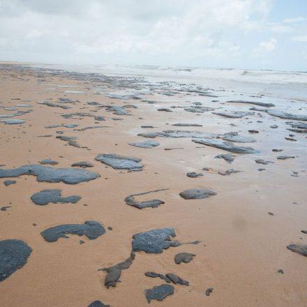 Petróleo que atingiu Nordeste é de outro país, diz Bolsonaro