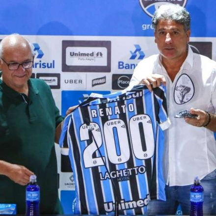 Presidente do Grêmio banca a permanência de Renato Gaúcho