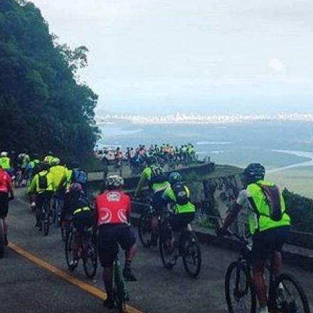 Inscrições para descida de bike até Santos estão abertas