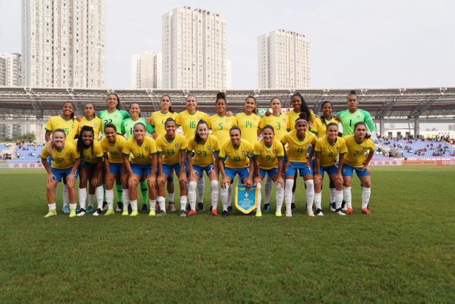 Seleção Brasileira enfrentará a China, amanhã, em final de Torneio Feminino