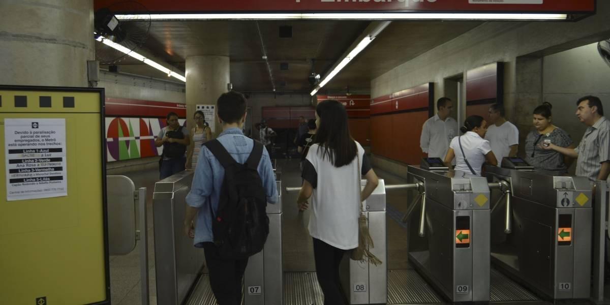 Metroviários de São Paulo anunciam estado de greve