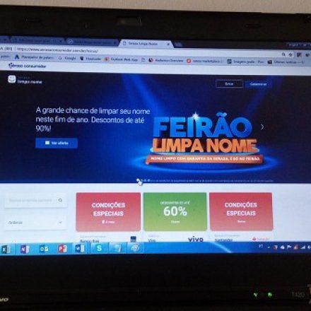 Serasa: Feirão online para limpar o nome volta a ser prorrogado
