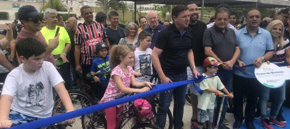 Prefeitura de São Bernardo inaugura Parque das Bicicletas