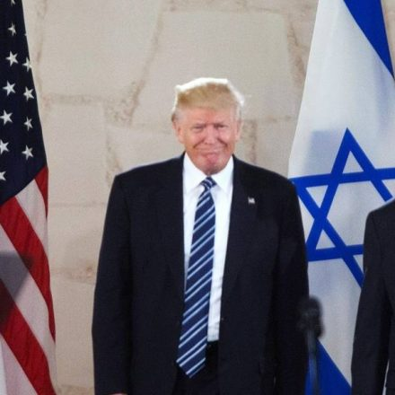 Trump propõe divisão em dois Estados para Israel e Palestina