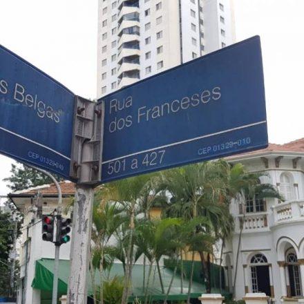 Placas de rua de São Paulo terão significado do nome das vias