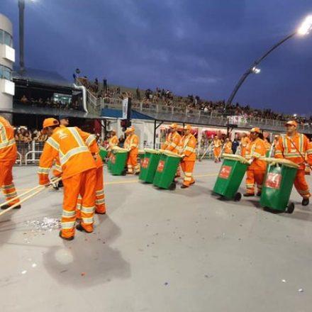 Carnaval de São Paulo gerou mais de 560 mil quilos de lixo