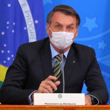Bolsonaro declara que operação que flagrou Senador é motivo de orgulho