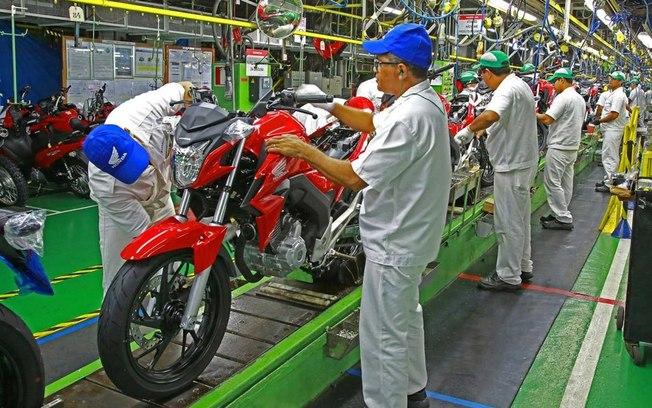 Honda, Yamaha e BMW interromperão atividades nas fábricas de Manaus