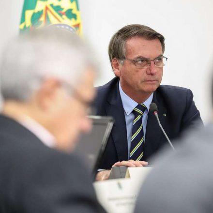 Bolsonaro convida governadores para reunião na quinta-feira