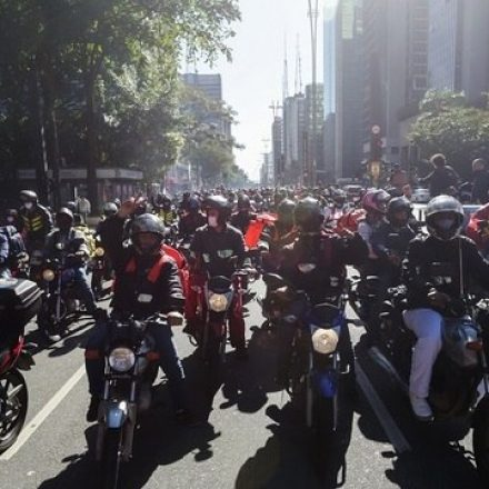 Sindicato dos entregadores de SP marca novo ato para 14 de julho
