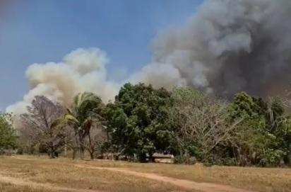 Incêndio obriga Funai a retirar 45 indígenas às pressas de 4 aldeias no Mato Grosso