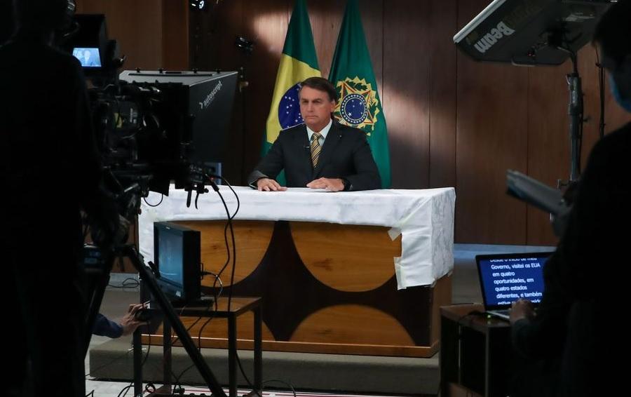 Bolsonaro participa da abertura de fórum econômico com países árabes