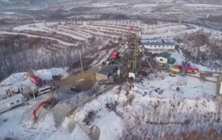 Trabalhadores estão retidos em mina de ouro, na China, após explosão