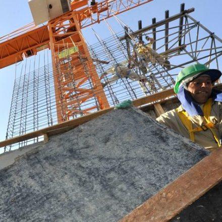Custo da construção sobe 1,07% em fevereiro