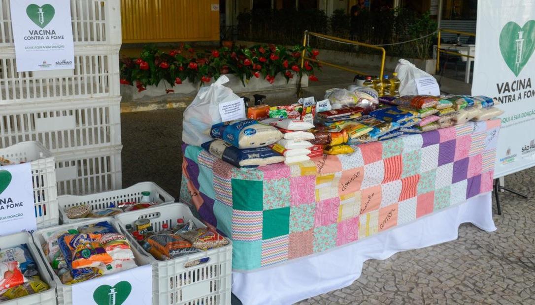 Prefeitura de São Bernardo firma parceria com Governo do Estado para impulsionar arrecadação de alimentos