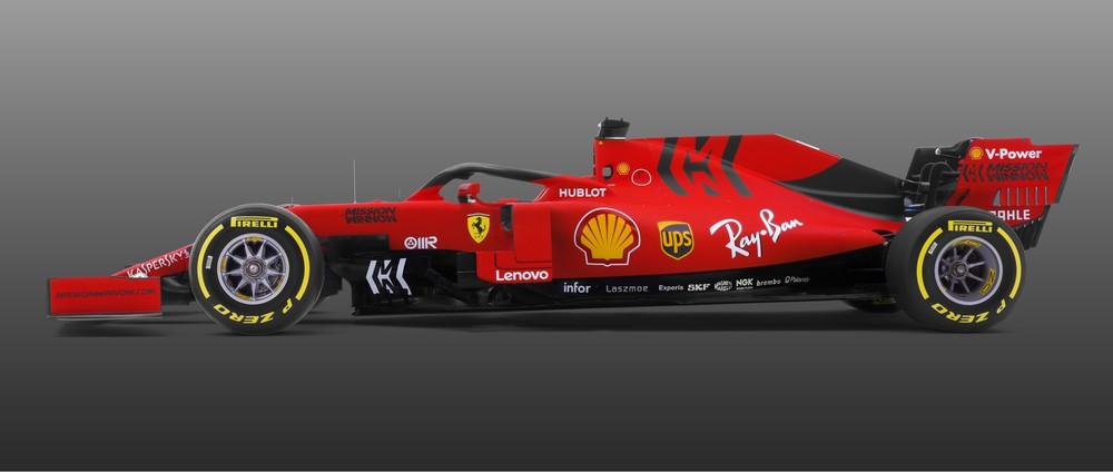 Vermelho e preto fosco, Ferrari também apresenta carro para a F1/2019