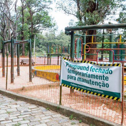 Áreas de lazer do parque da Aclimação seguem fechadas