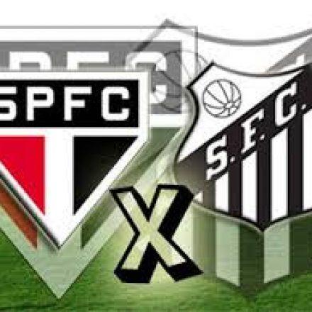 São Paulo x Santos: abrem hoje a 14ª rodada doCampeonato Brasileiro.