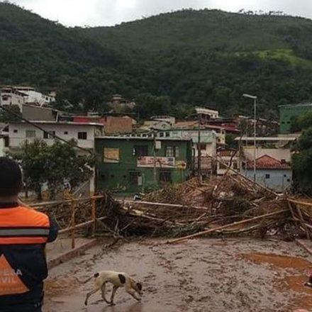 Número de mortes pelas chuvas chega a 55 em Minas Gerais