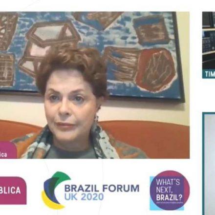 Dilma diz não acreditar em impeachment de Bolsonaro