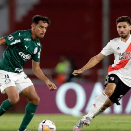 Palmeiras bate River Plate e abre boa vantagem para o jogo de volta