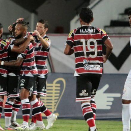 Santa Cruz bate Itabaiana e vai à fase de grupos da Copa do Nordeste