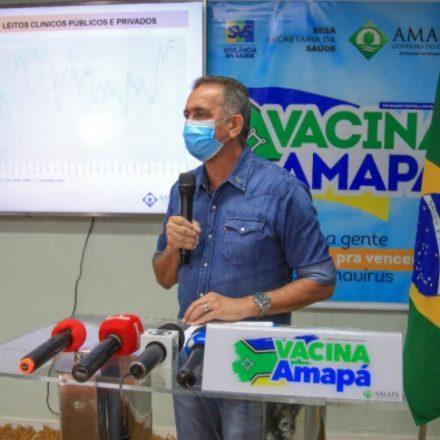 Governador do Amapá também anuncia lockdown