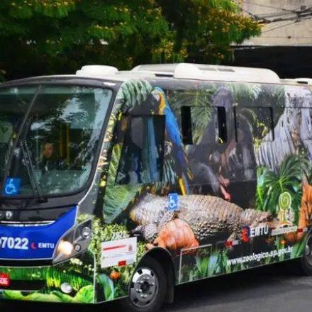 Orca Zoo da EMTU volta a levar passageiros do Terminal Jabaquara ao Zoológico