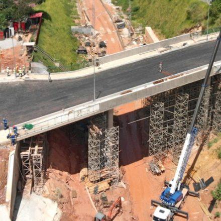 CPTM inaugurou 2 viadutos para extensão da Linha 9-Esmeralda