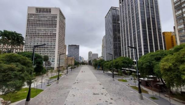 Vale do Anhangabaú será reaberto parcialmente, amanhã