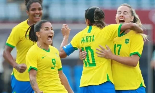 Brasil goleia China por 5 a 0 na estreia das Olimpíadas