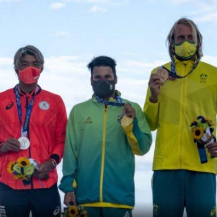 Italo Ferreira conquista primeiro ouro do Brasil nas Olimpíadas