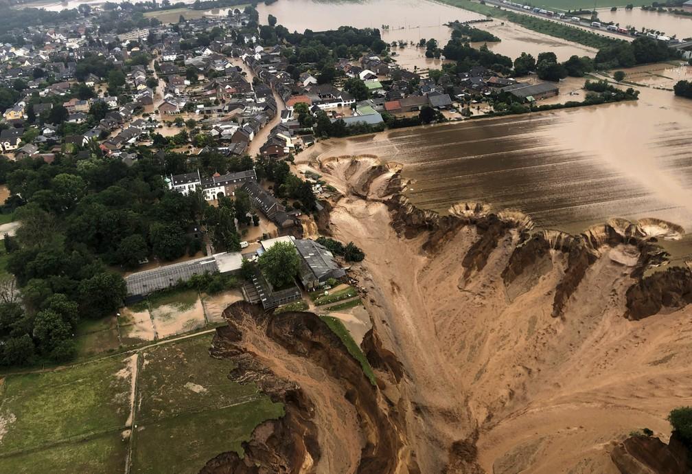 Mortos após chuvas chegam a 153 na Alemanha e na Bélgica
