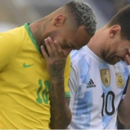 Fifa lamenta suspensão de Brasil x Argentina e avaliará caso para 'tomar decisão'
