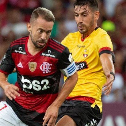Flamengo e Barcelona de Guayaquil jogarão pela Libertadores hoje